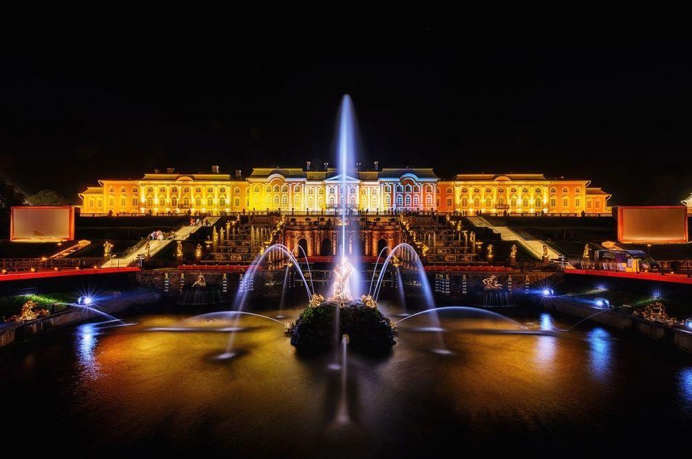 Осенний праздник закрытия фонтанов 2019
